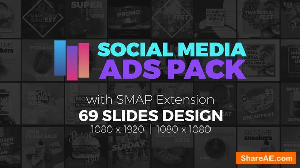 Videohive Social Media Ads Pack