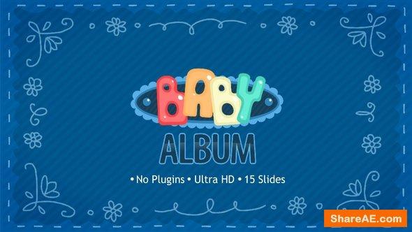 Videohive Baby Album
