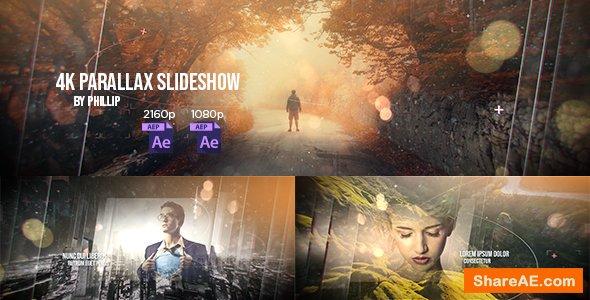 Videohive 4K Parallax Slideshow