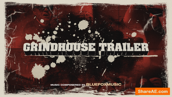 Videohive Grindhouse Trailer