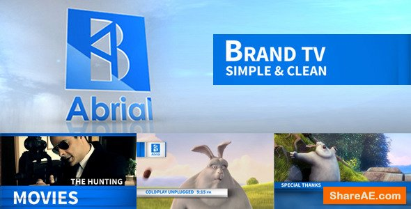Videohive Brand TV Simple & Clean