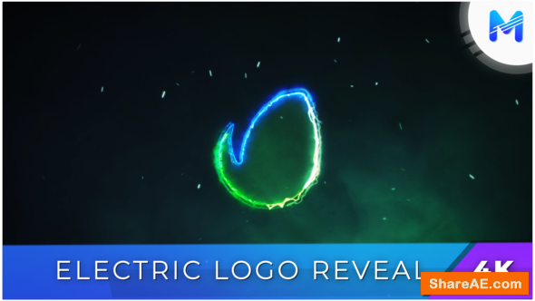Videohive Electric Logo Reveal 22163840