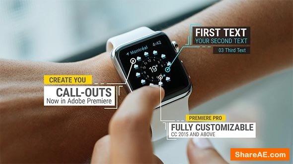 Videohive Call-Outs - Premiere Pro