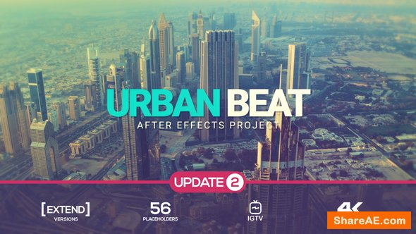 Videohive Urban Glitch Intro v2