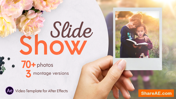 Videohive Slideshow Montage