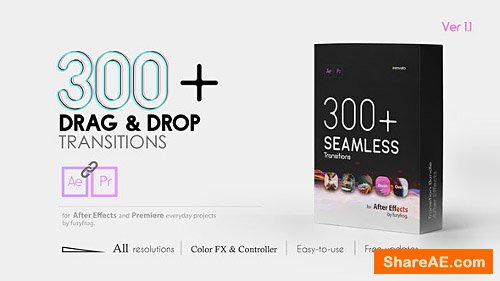 Videohive Seamless Transitions V1 1 - 22997639 » free after
