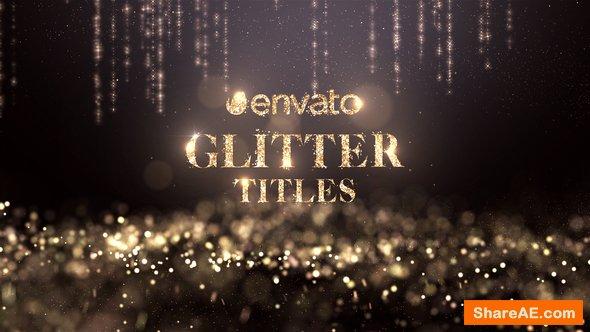 Videohive Glitter Titles