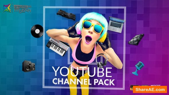 Videohive YouTube Channel Pack