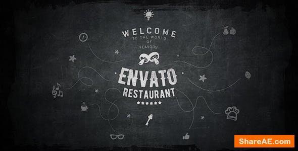 Videohive Envato Restaurant/ Cafe Promo/ Modern Bar Menu