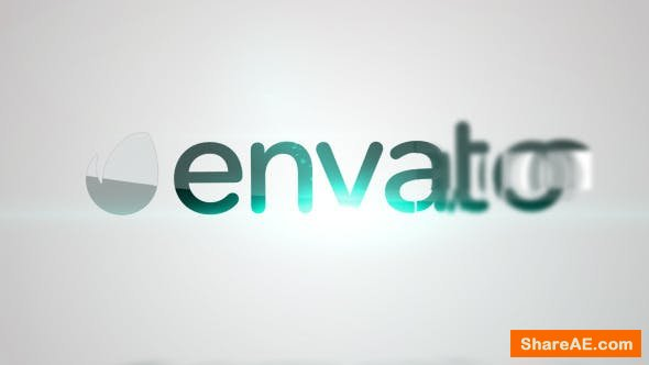 Videohive Clean Turn Logo