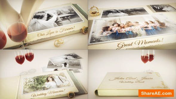 Videohive Our Wedding Story