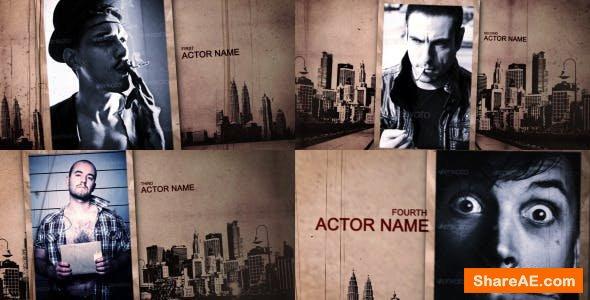 Videohive Grunge Movie Opener