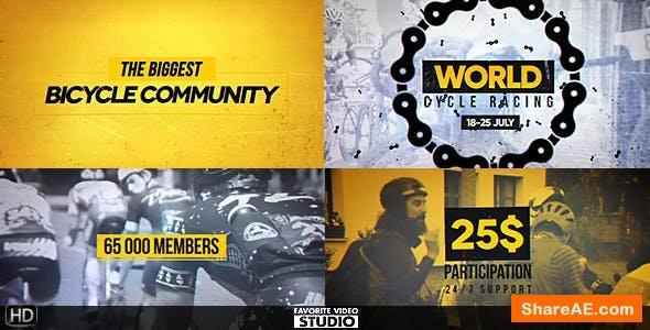 Videohive World Cycling Marathon Pack