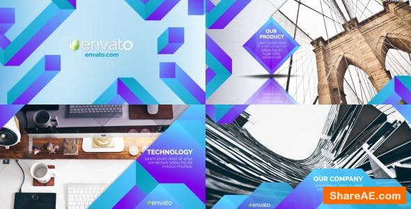 Videohive Clean Corporate Slideshow 20243070