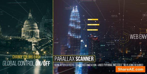 Videohive Parallax Scanner