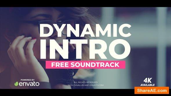 Videohive Dynamic Intro 21369285