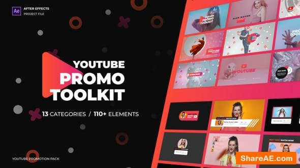 Videohive Modern Youtube Promo Toolkit