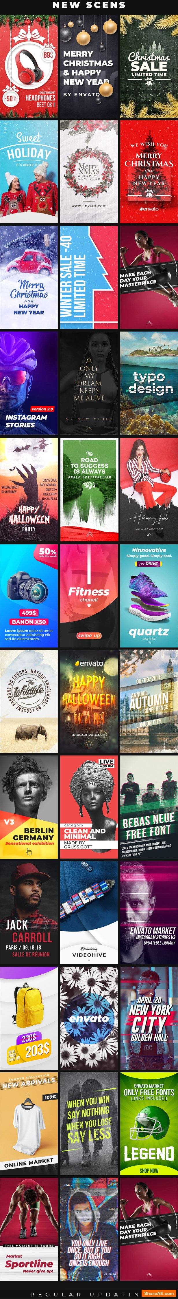 Videohive Instagram Stories v5 21895564