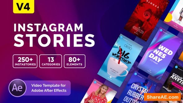 Videohive Instagram Stories v4 21850927