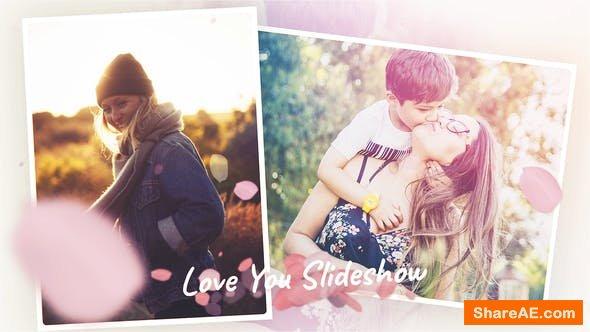 Videohive Love You - Romantic Slideshow