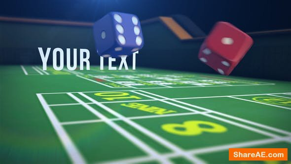 Videohive Casino Logo Reveal