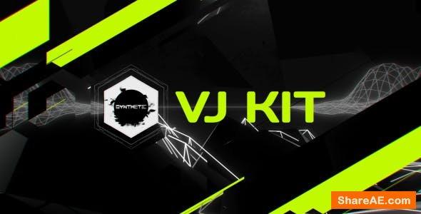 Videohive Synthetic TV (VJ Kit)