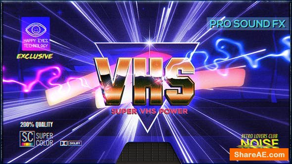 Videohive Super VHS