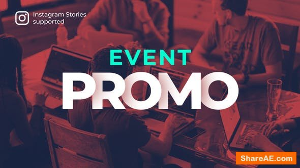 Videohive Event Promo with Instagram Stories Version