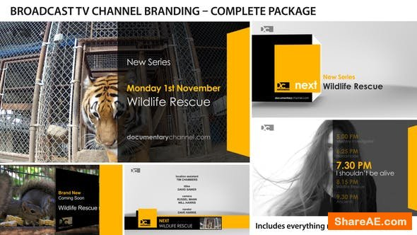 Videohive Broadcast Design - TV Channel Branding 1