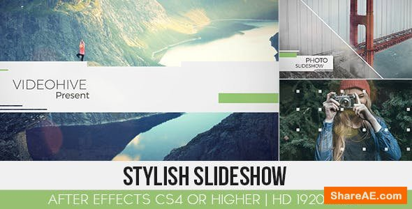Videohive Stylish Slideshow 13000507