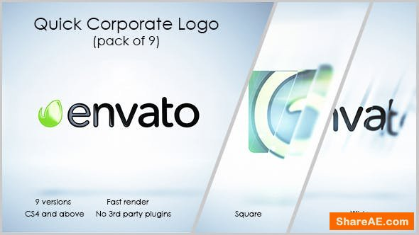 Videohive Quick Corporate Logo