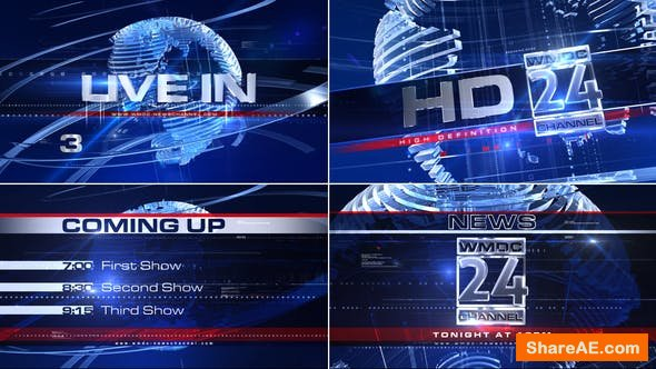 Videohive Broadcast Design - Complete News Package 1