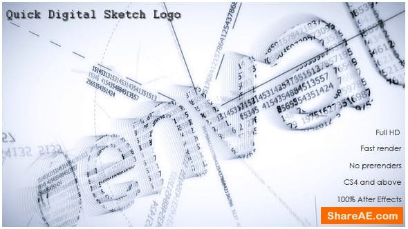 Videohive Quick Digital Sketch Logo