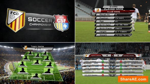 Videohive Broadcast Design - Complete On-Air Soccer Package