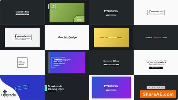 Videohive Titles 21304155