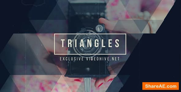 Videohive Triangles