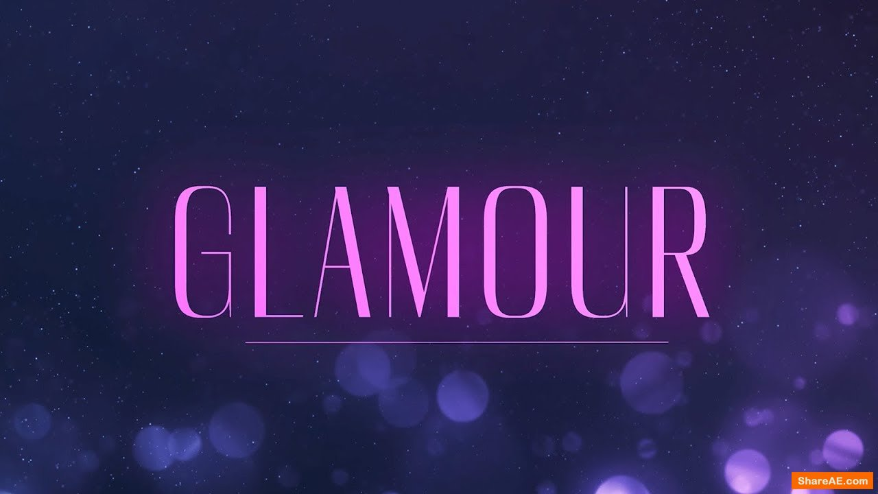 Glamour - 100+ Effects for Fashion Videos (RocketStock)