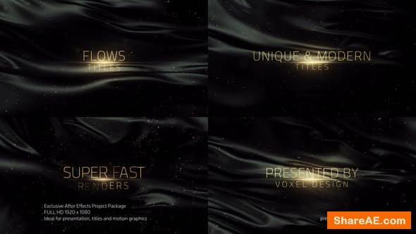 Videohive Flows Titles