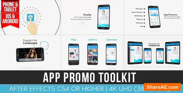 Videohive App Promo Toolkit 16225576