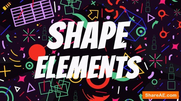 Shape Elements v2.2 7826596 - After Effects Project (Videohive)
