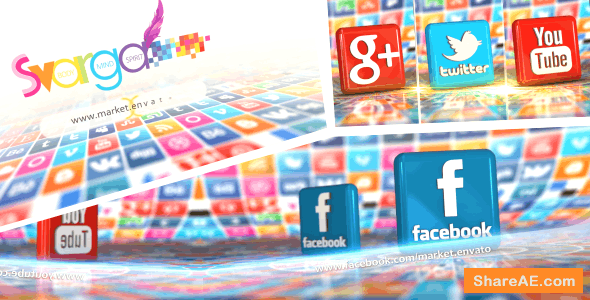 Videohive 3D Social World