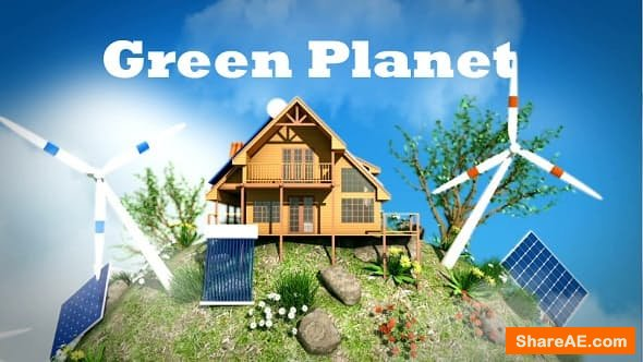 Videohive Eco Planet - Renewable Energy