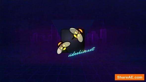 Videohive VHS Logo Opener