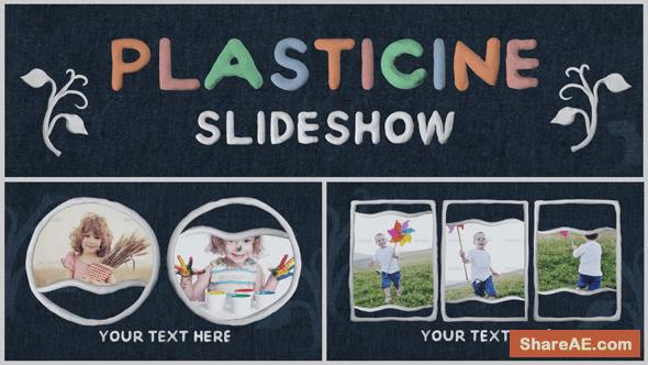 Videohive Plasticine Slideshow
