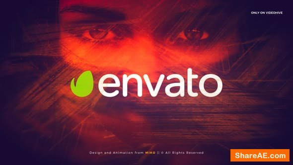Videohive Brush Intro Logo