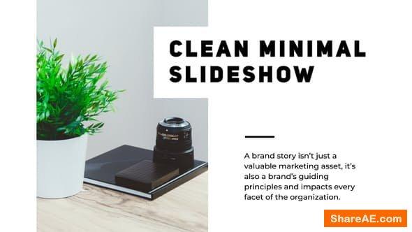 Videohive Minimal Clean Presentation