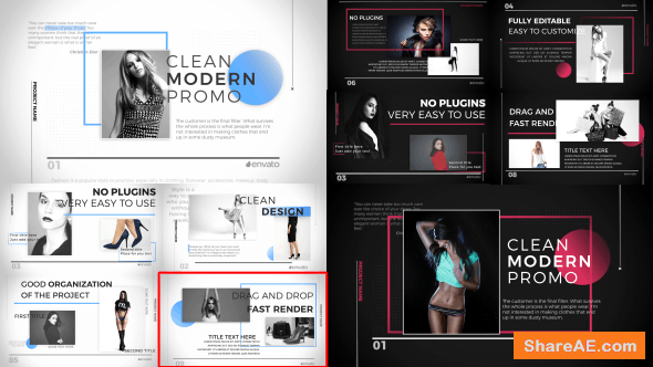 Videohive Clean Fashion Slideshow 19080773