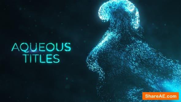 Videohive Aqueous Titles