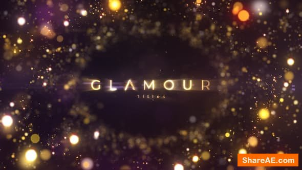 Videohive Glamour Titles