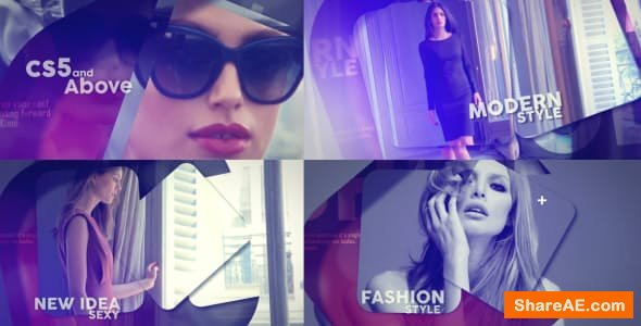 Videohive Glass Fashion Opener